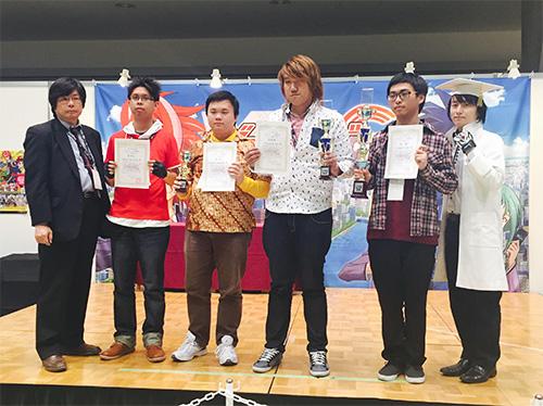 アジア選手権2015 表彰式PHOTO
