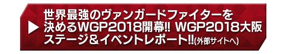 世界最強のヴァンガードファイターを決めるWGP2018開幕!!WGP2018大阪 ステージ&イベントレポート!!