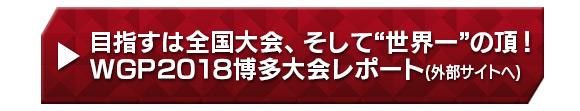 """目指すは全国大会、そして""""世界一""""の頂!WGP2018博多大会レポート"""