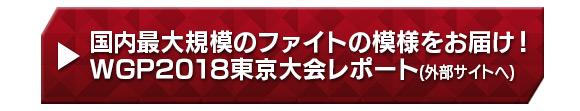 国内最大規模のファイトの模様をお届け!WGP2018東京大会レポート